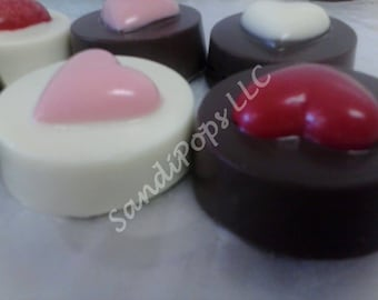 Chocolate covered Love Wedding Anniversary Valentines Oreos