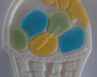 24 Easter basket Chocolate Lollipops