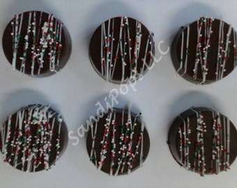 24 Chocolate covered Love Wedding Anniversary Valentines Oreos