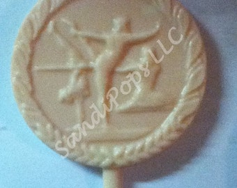 24  gymnast recital chocolate lollipops acro, ballet, jazz, pointe