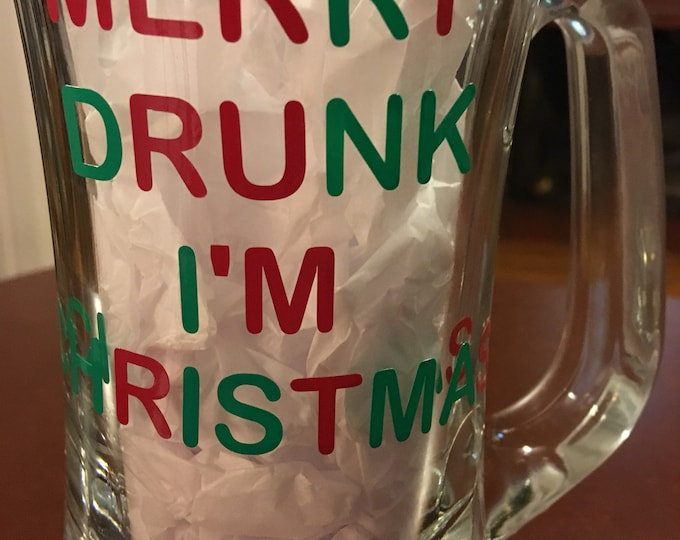 holiday party wine beer glasses and mugs, christmas party, drunk christmas, cheers