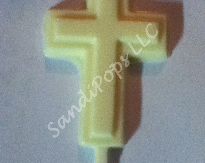 24 solid color(s) crosses for Communion Baptism, confirmation, wedding, graduation,