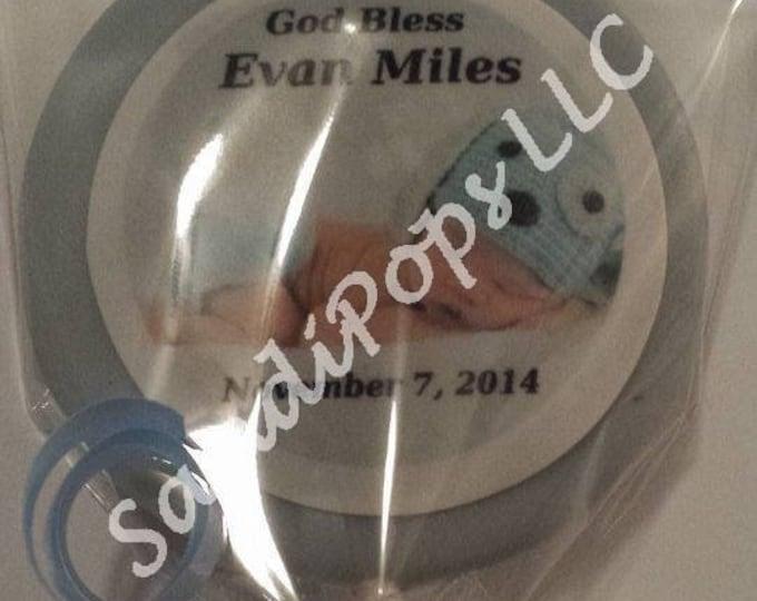 Communion, Catholic Dedication, Baptism, Christening personalized pops or oreos