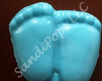 24 Baby Feet Baby Shower or announcement chocolate lollipops