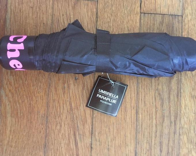 Customized umbrella with glitter or non glitter wording