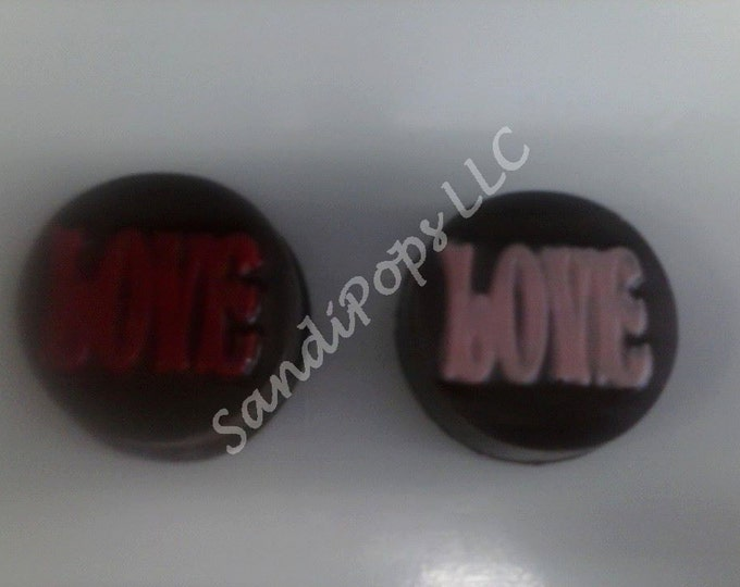 24 Chocolate covered Love Wedding Anniversary Valentines Oreos