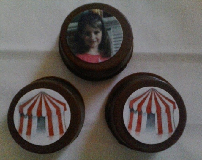 24 Big Top Circus Carnival Birthday Party Favor Lollipops