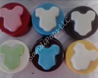 24 Chocolate covered Baby Shower or Arrival Oreos