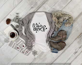 Holiday tees, t-shirt,  warm cozy, believe, sparkle, flake, snow