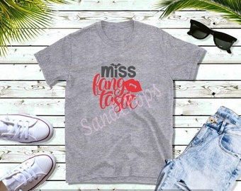 Halloween, fall, autumn festive tees- Miss Fang, Mr. Fang, Scary Dad, Scary Mom