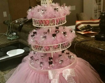 25 TUTUS 3075 FREE Domestic Shipping Glitter Tulle Color Of Your Choice Excelent For Any Event Favors