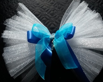 Mermaid BootyVeils 15.99/Free SHIPPING/Great for Bride or Birthday Batch/Any ocassion/Clips on to Bikini,shorts,skirt, jeans