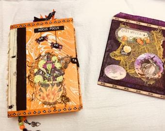 Journal, Halloween Junk Journal