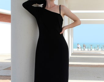 d155a78c0def Vintage 1990s Cache Evening Gown Formal Long Event Black Small/Medium