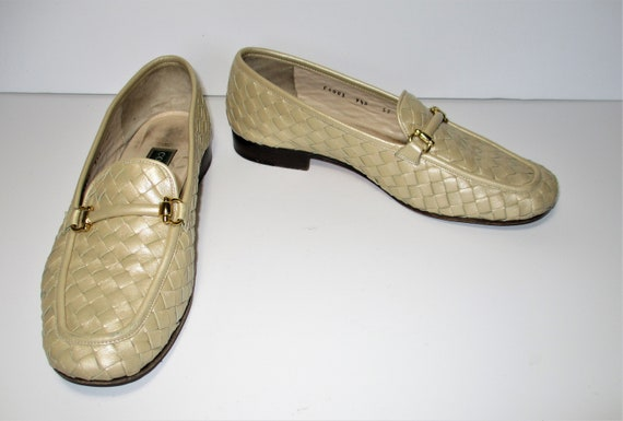 Vintage 1980s Cole Haan Loafers Flats Shoes Casual