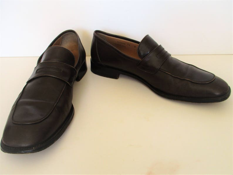 493e7e917c7 Mens Shoes Vintage 90s Bally size 12M Loafers Mens