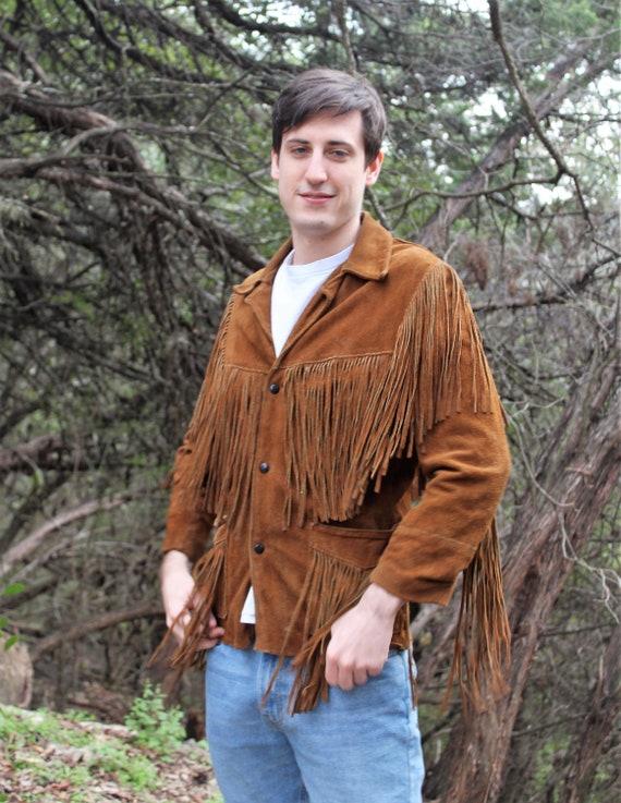Festival Jacket for Men   Small/Medium Men, brown
