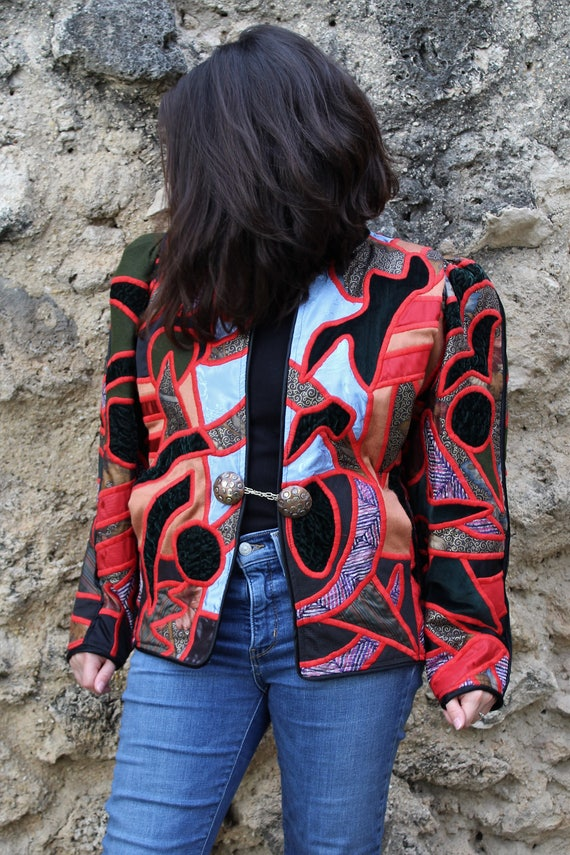 Statement Jacket | La Coleccion Judith Roberts, Me