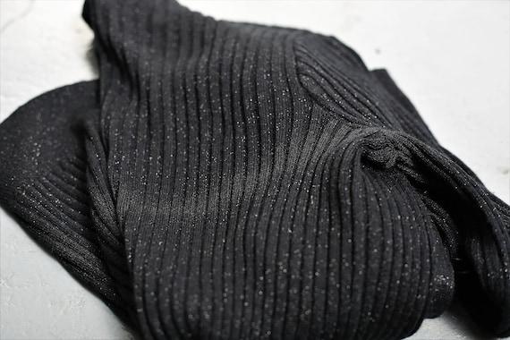 Vintage 1970s Roncelli Black Knit Maxi Dress & Ca… - image 9
