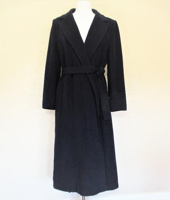 Vintage 1970s/80s Cashmere Coat, Medium Women, Dar