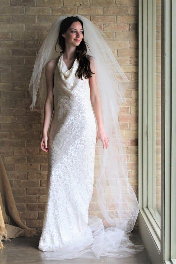 Beach Wedding Dress Ralph Lauren 10 Long dress beach wedding | Etsy
