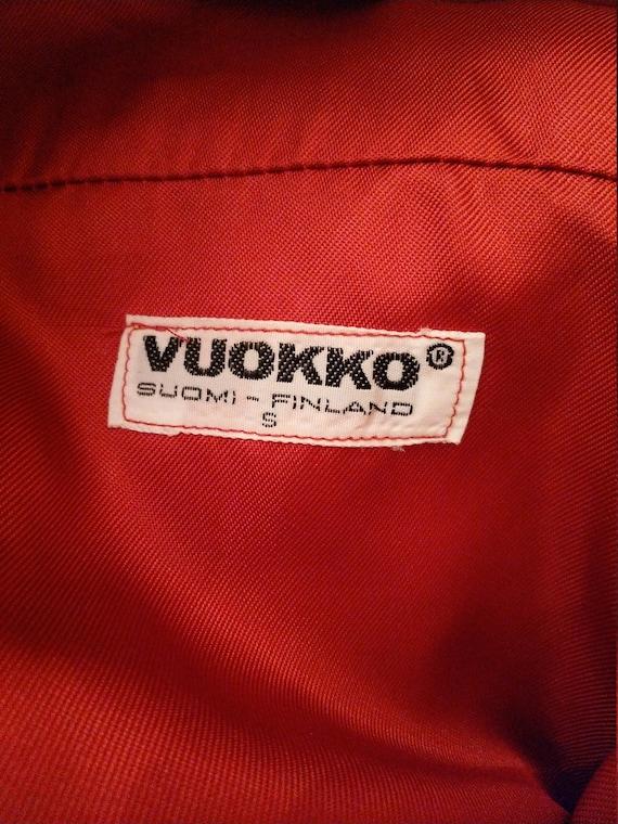 Vintage 1970s Vuokko Suomi Finland Trench Coat w/… - image 7