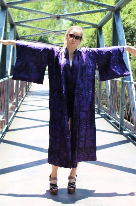 Kimono Robe |Medium, Kimono Robe Women, Vintage, P