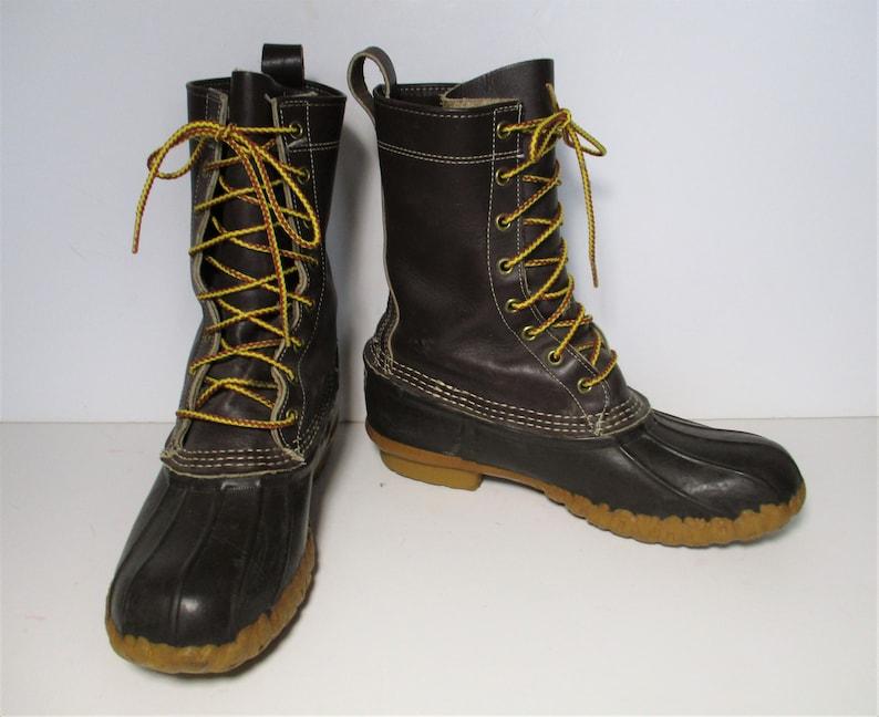 bc39ea5a8103f Duck Boots   Vintage L.L. Bean, size 8 Men, Rain Boots, Winter Boots, Duck  Boots Men, Hunting Boots, Vintage Duck Boots, Boots, 80s LL Bean