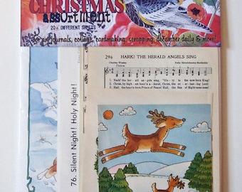 deluxe CHRISTMAS ephemera collage assortment