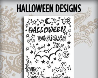 Halloween Design Book
