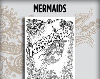 Mermaids Design Book