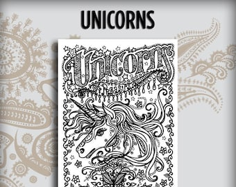 Unicorns Design Book