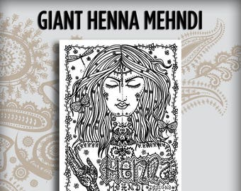 Giant Henna Mehndi Design Book