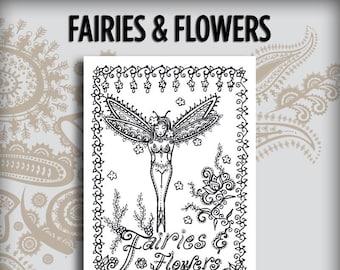 Fairies & Flowers Design Book