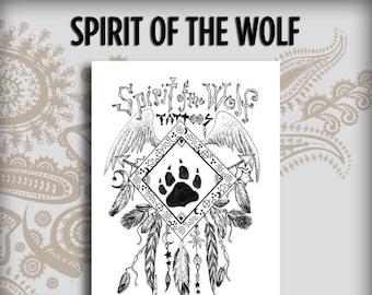Spirit of the Wolf Design Book