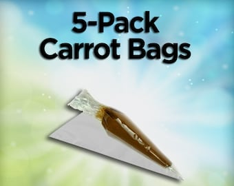 5 Pack of Carrot Bags
