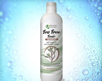 Tea Tree Tonic Natural & Organic Shampoo