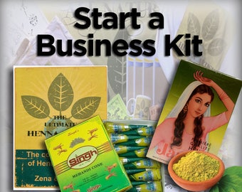 Start a Henna Business Kit