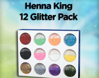12 Color Glitter Pack