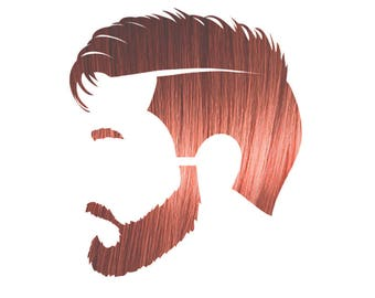 Manly Guy Light Red 100% Natural & Chemical Free Beard and Hair Coloring