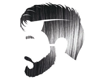 Manly Guy Black 100% Natural & Chemical Free Beard and Hair Coloring