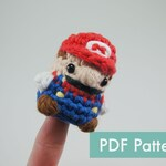 Crocheted Super Mario Amigurumi PDF Pattern