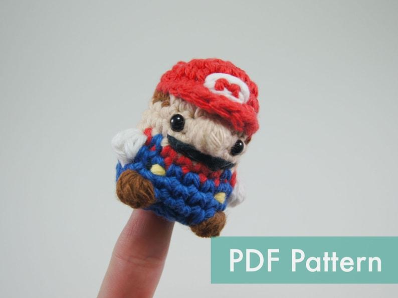 Crocheted Super Mario Amigurumi PDF Pattern image 0
