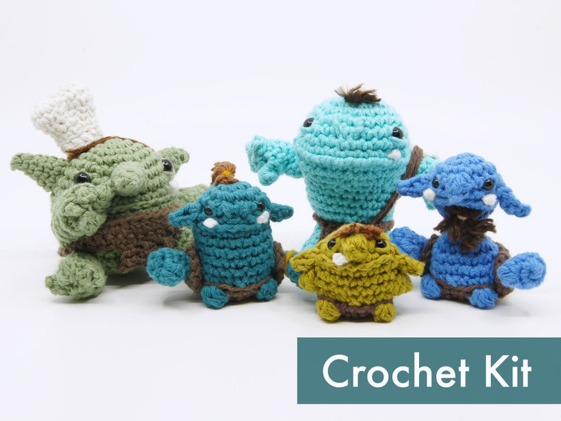 The Goblinoids Amigurumi Crochet Kit image 0