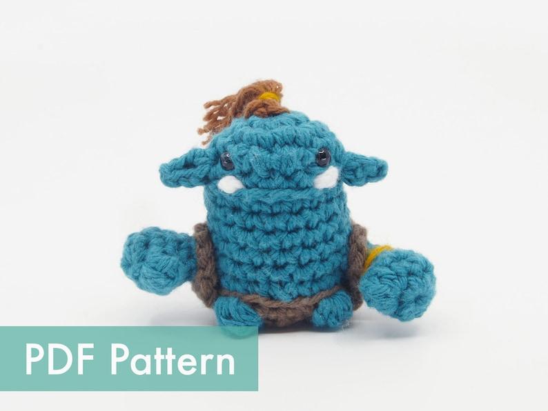 Crocheted Orc Amigurumi PDF Pattern image 0