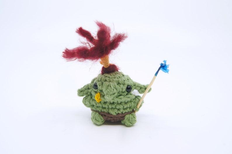 Spiros  Crocheted Goblin image 0
