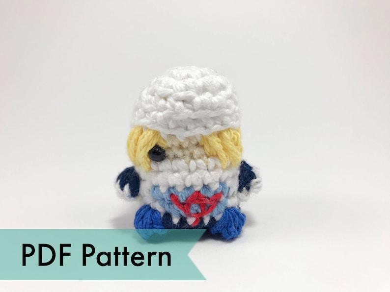 Sheik from Legend of Zelda Crocheted Amigurumi Finger Puppet image 0