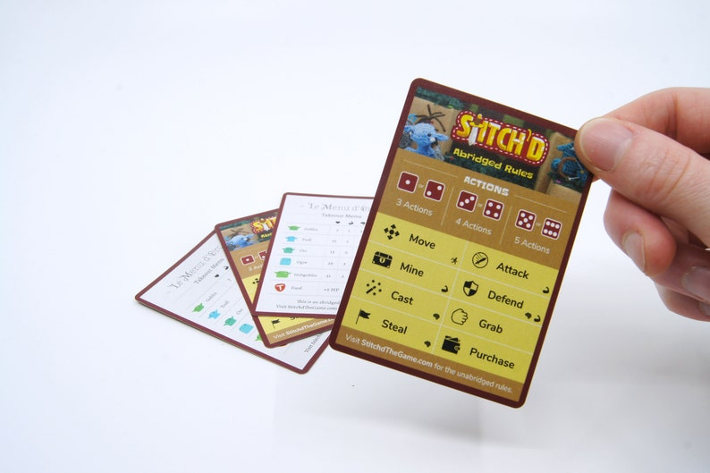 Stitch'd Rule Cards Set of 4 image 0