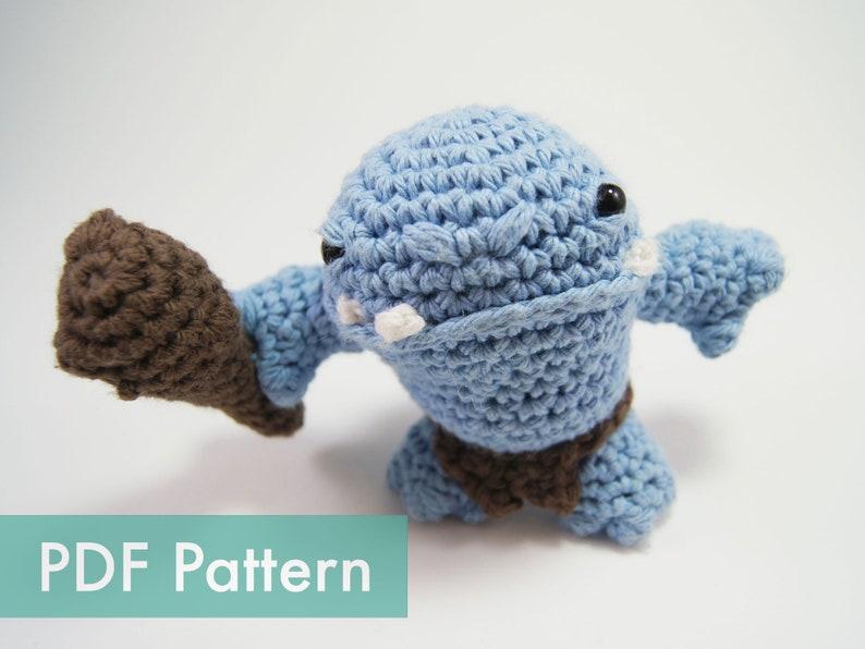 Crocheted Ogre Amigurumi PDF Pattern image 0