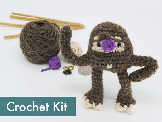 PDF Pattern: Bigfoot Amigurumi Crochet pattern only not | Etsy | 428x570